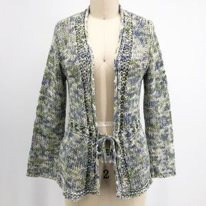 Margaret O'Leary Tie Waist Cardigan Sweater Purl